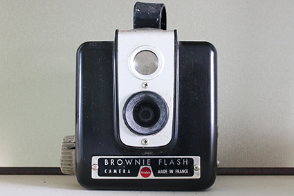 Brownie Flash Camera France