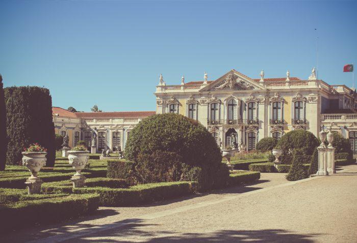Palacio Nacional de Queluz, Paleis Queluz