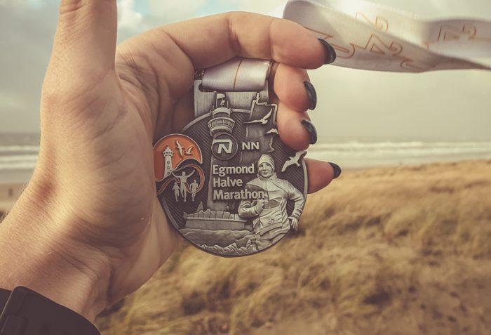 Egmond Halve Marathon Medaille 2020